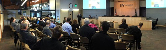Overview of Planning Meeting at Happy Valley, Oregon