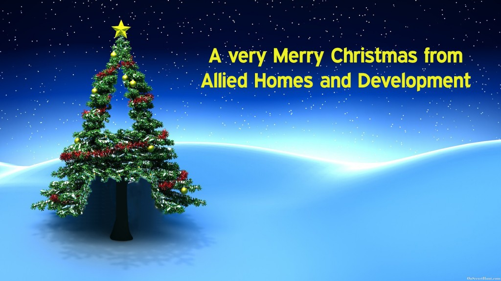 Merry Christmas from Allied Homes and Development