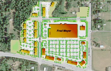New Fred Meyer Site - Happy Valley Crossroads
