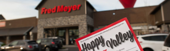 Happy Valley Fred Meyer Opens its Doors