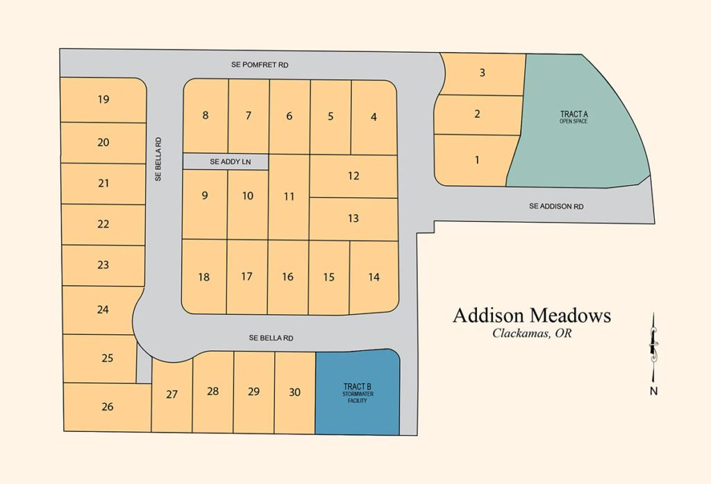 Addison Meadows - Residential-Subdivision - Happy Valley, OR - Allied-Development