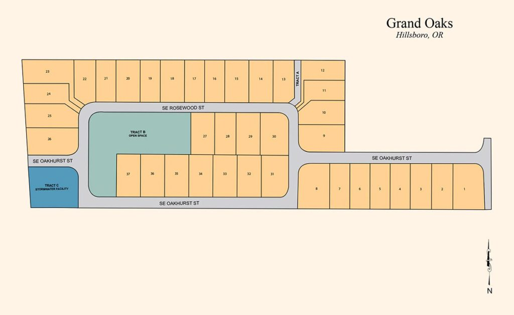 Grand Oaks - Residential Subdivision - Hillsboro, OR - Allied Development