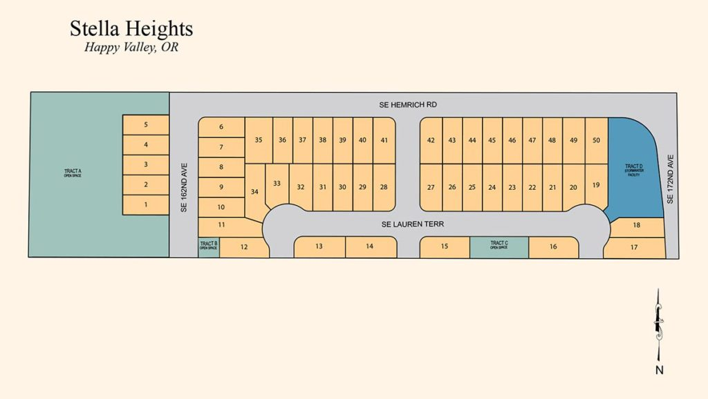Stella Heights - Residential Subdivision - Happy Valley, OR - Allied Development